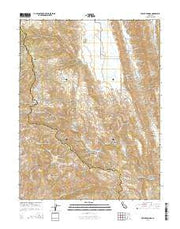 Wilbur Springs California Current topographic map, 1:24000 scale, 7.5 X 7.5 Minute, Year 2015 from California Maps Store