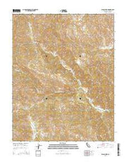 Wilcox Ridge California Current topographic map, 1:24000 scale, 7.5 X 7.5 Minute, Year 2015 from California Maps Store