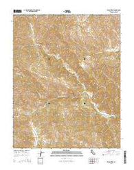 Wilcox Ridge California Current topographic map, 1:24000 scale, 7.5 X 7.5 Minute, Year 2015