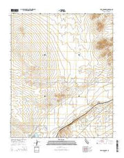 Wild Crossing California Current topographic map, 1:24000 scale, 7.5 X 7.5 Minute, Year 2015 from California Maps Store