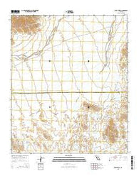 Wiley Well California Current topographic map, 1:24000 scale, 7.5 X 7.5 Minute, Year 2015