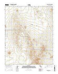 Williams Well California Current topographic map, 1:24000 scale, 7.5 X 7.5 Minute, Year 2015