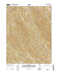 Willis Ridge California Current topographic map, 1:24000 scale, 7.5 X 7.5 Minute, Year 2015
