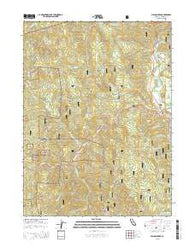 Willow Creek California Current topographic map, 1:24000 scale, 7.5 X 7.5 Minute, Year 2015