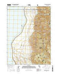 Willow Ranch California Current topographic map, 1:24000 scale, 7.5 X 7.5 Minute, Year 2015