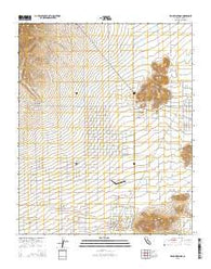 Willow Springs California Current topographic map, 1:24000 scale, 7.5 X 7.5 Minute, Year 2015