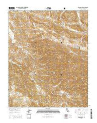 Wilson Corner California Current topographic map, 1:24000 scale, 7.5 X 7.5 Minute, Year 2015