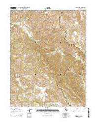 Wilson Valley California Current topographic map, 1:24000 scale, 7.5 X 7.5 Minute, Year 2015