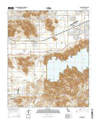 Winchester California Current topographic map, 1:24000 scale, 7.5 X 7.5 Minute, Year 2015