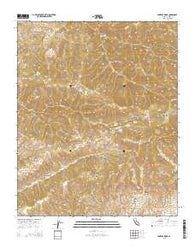 Winters Ridge California Current topographic map, 1:24000 scale, 7.5 X 7.5 Minute, Year 2015