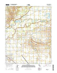 Winton California Current topographic map, 1:24000 scale, 7.5 X 7.5 Minute, Year 2015