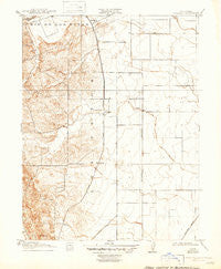 Wolfskill California Historical topographic map, 1:31680 scale, 7.5 X 7.5 Minute, Year 1917
