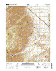 Woodfords California Current topographic map, 1:24000 scale, 7.5 X 7.5 Minute, Year 2015