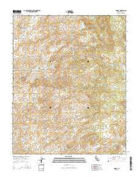 Woody California Current topographic map, 1:24000 scale, 7.5 X 7.5 Minute, Year 2015