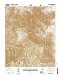 Woolstalf Creek California Current topographic map, 1:24000 scale, 7.5 X 7.5 Minute, Year 2015