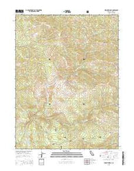 Wrights Ridge California Current topographic map, 1:24000 scale, 7.5 X 7.5 Minute, Year 2015