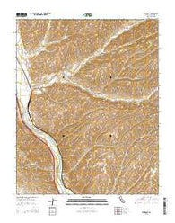 Wunpost California Current topographic map, 1:24000 scale, 7.5 X 7.5 Minute, Year 2015