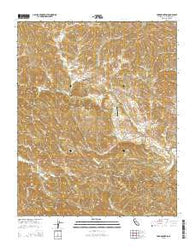 York Mountain California Current topographic map, 1:24000 scale, 7.5 X 7.5 Minute, Year 2015