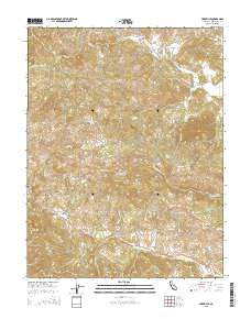 Yorkville California Current topographic map, 1:24000 scale, 7.5 X 7.5 Minute, Year 2015