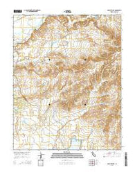 Yosemite Lake California Current topographic map, 1:24000 scale, 7.5 X 7.5 Minute, Year 2015