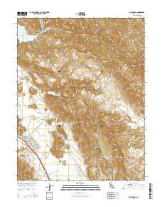 Yountville California Current topographic map, 1:24000 scale, 7.5 X 7.5 Minute, Year 2015