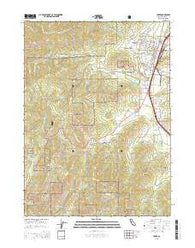 Yreka California Current topographic map, 1:24000 scale, 7.5 X 7.5 Minute, Year 2015