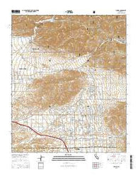 Yucaipa California Current topographic map, 1:24000 scale, 7.5 X 7.5 Minute, Year 2015