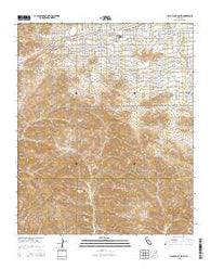 Yucca Valley South California Current topographic map, 1:24000 scale, 7.5 X 7.5 Minute, Year 2015
