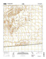 Yuha Basin California Current topographic map, 1:24000 scale, 7.5 X 7.5 Minute, Year 2015