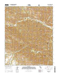 Zaca Lake California Current topographic map, 1:24000 scale, 7.5 X 7.5 Minute, Year 2015