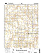 Alpine Ranch Colorado Current topographic map, 1:24000 scale, 7.5 X 7.5 Minute, Year 2016 from Colorado Map Store