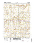 Anton Colorado Current topographic map, 1:24000 scale, 7.5 X 7.5 Minute, Year 2016 from Colorado Map Store