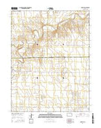 Anton SE Colorado Current topographic map, 1:24000 scale, 7.5 X 7.5 Minute, Year 2016 from Colorado Map Store