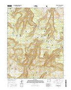 Antone Spring Colorado Current topographic map, 1:24000 scale, 7.5 X 7.5 Minute, Year 2016 from Colorado Map Store