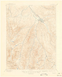 Aspen Colorado Historical topographic map, 1:62500 scale, 15 X 15 Minute, Year 1895
