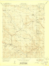 Bailey Colorado Historical topographic map, 1:24000 scale, 7.5 X 7.5 Minute, Year 1949