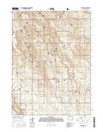 Baker Draw Colorado Current topographic map, 1:24000 scale, 7.5 X 7.5 Minute, Year 2016 from Colorado Map Store