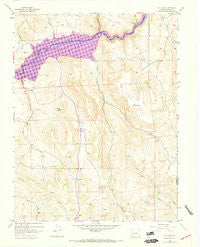 Big Mesa Colorado Historical topographic map, 1:24000 scale, 7.5 X 7.5 Minute, Year 1954