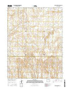 Big Spring Creek Colorado Current topographic map, 1:24000 scale, 7.5 X 7.5 Minute, Year 2016 from Colorado Map Store
