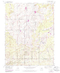 Black Forest Colorado Historical topographic map, 1:24000 scale, 7.5 X 7.5 Minute, Year 1954
