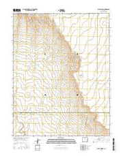 Bluff Spring Colorado Current topographic map, 1:24000 scale, 7.5 X 7.5 Minute, Year 2016 from Colorado Maps Store