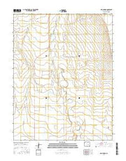Box Springs Colorado Current topographic map, 1:24000 scale, 7.5 X 7.5 Minute, Year 2016 from Colorado Maps Store