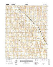 Boyero Colorado Current topographic map, 1:24000 scale, 7.5 X 7.5 Minute, Year 2016 from Colorado Maps Store