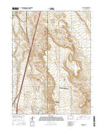 Carr SW Colorado Current topographic map, 1:24000 scale, 7.5 X 7.5 Minute, Year 2016 from Colorado Map Store