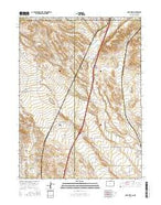 Carr West Colorado Current topographic map, 1:24000 scale, 7.5 X 7.5 Minute, Year 2016 from Colorado Map Store
