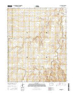 Cat Creek Colorado Current topographic map, 1:24000 scale, 7.5 X 7.5 Minute, Year 2016 from Colorado Map Store