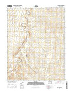 Cat Creek NE Colorado Current topographic map, 1:24000 scale, 7.5 X 7.5 Minute, Year 2016 from Colorado Map Store