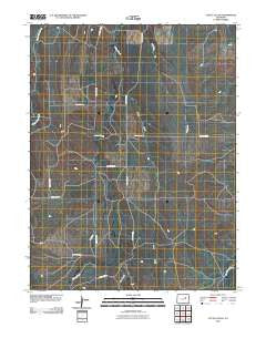 Cattle Gulch Colorado Historical topographic map, 1:24000 scale, 7.5 X 7.5 Minute, Year 2010