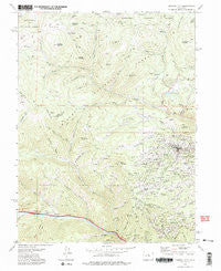 Central City Colorado Historical topographic map, 1:24000 scale, 7.5 X 7.5 Minute, Year 1972