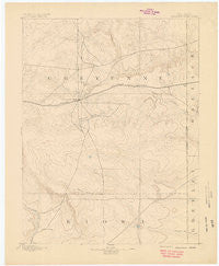 Cheyenne Wells Colorado Historical topographic map, 1:125000 scale, 30 X 30 Minute, Year 1894